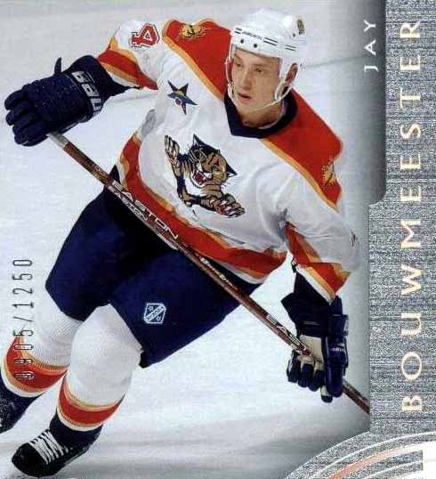 2002-03 Jay Bouwmeester Florida Panthers Game Worn Jersey