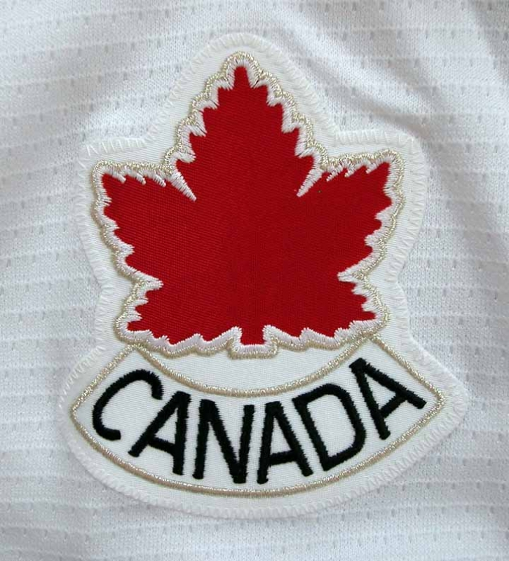 2002 Olympics Eric Brewer Team Canada Game Worn Jersey