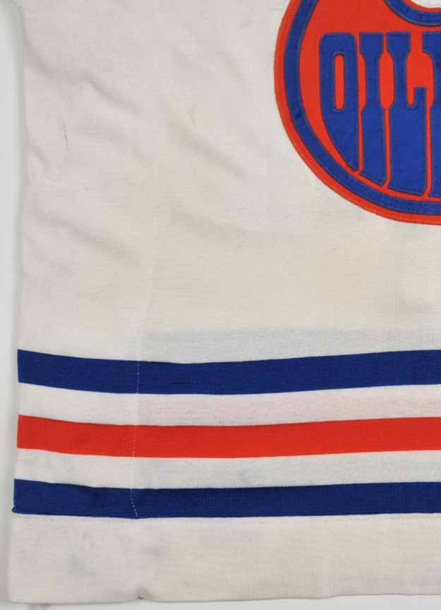 low priced 42871 3c488 Late 1970's Dave Dryden WHA Edmonton Oilers Game Worn Jersey ...