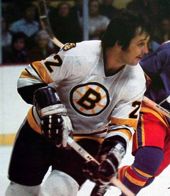 1976-77 Brad Park Boston Bruins Stanley Cup Finals Game ...