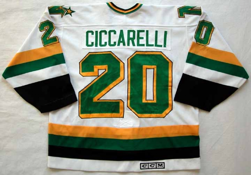 1988-89 Dino Ciccarelli North Stars Game Worn Jersey ... ba751cfe19e