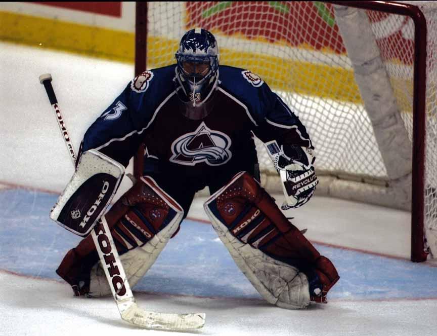 1996-97 Patrick Roy Colorado Avalanche Game Worn Jersey ...