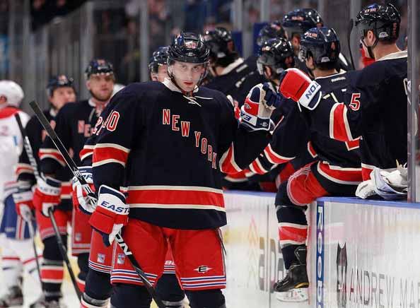 reputable site a5738 a2568 2011-12 Erik Christensen New York Rangers Game Worn Jersey ...