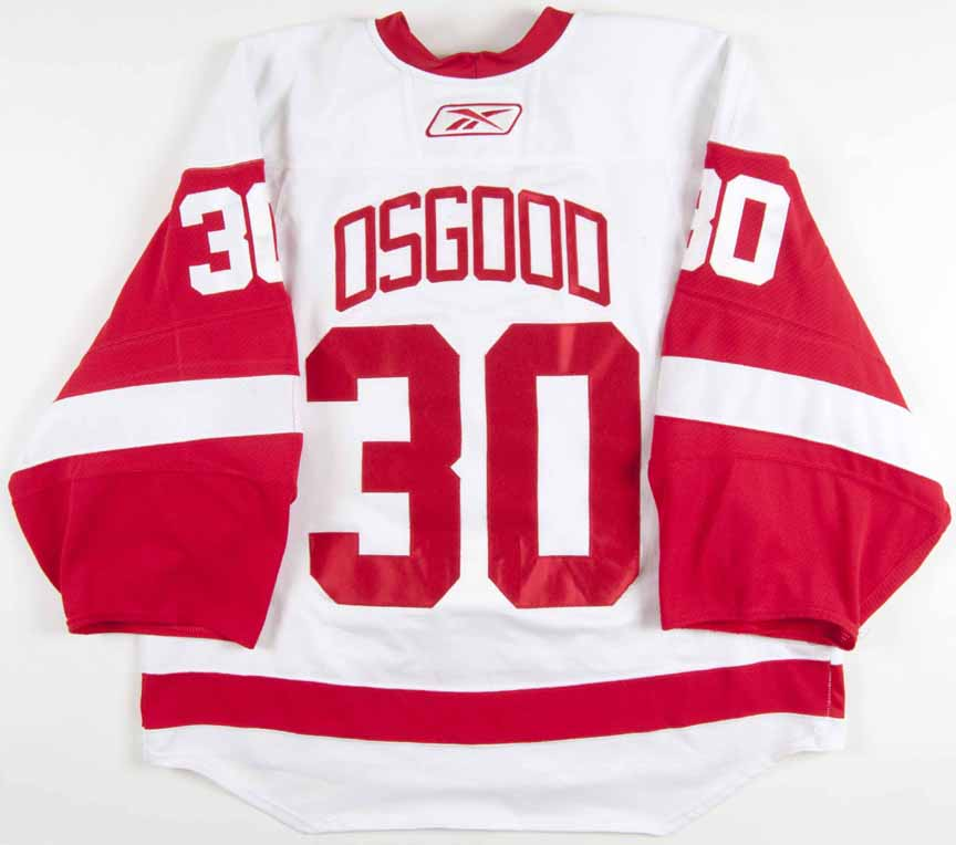 check out b26ab a8549 canada detroit red wings chris osgood 30 red replica jersey ...