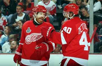2658d9854 2008-09 Kris Draper Detroit Red Wings Stanley Cup Finals Game Worn ...