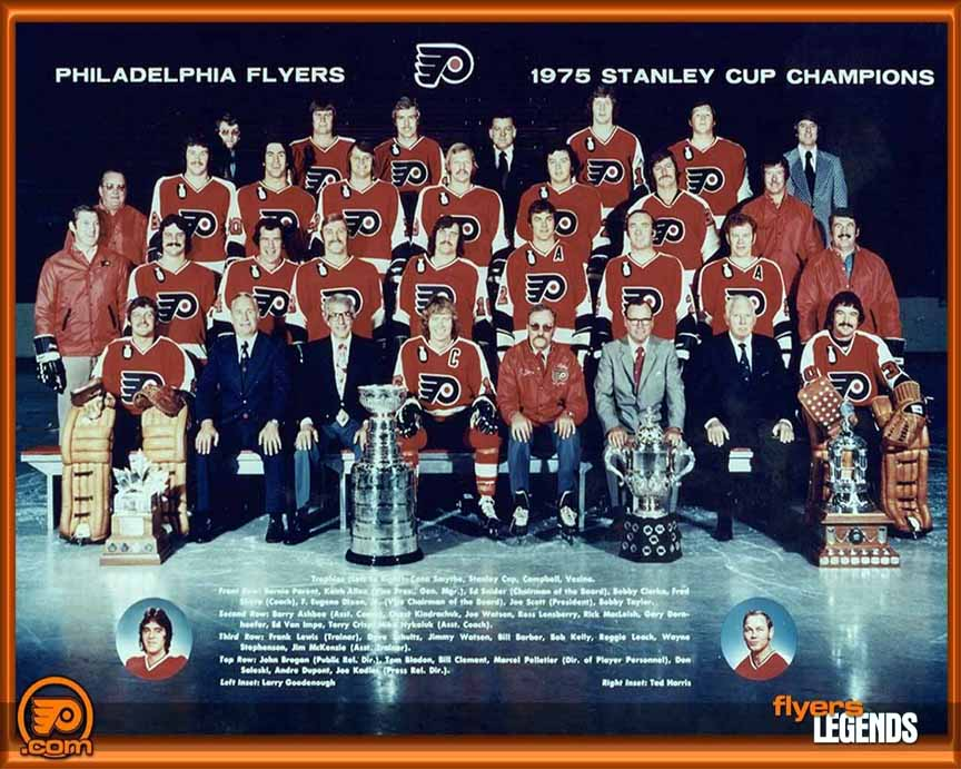 1974-75 Philadelphia Flyers Team Signed Replica Jersey - Signed by ... e233333d6