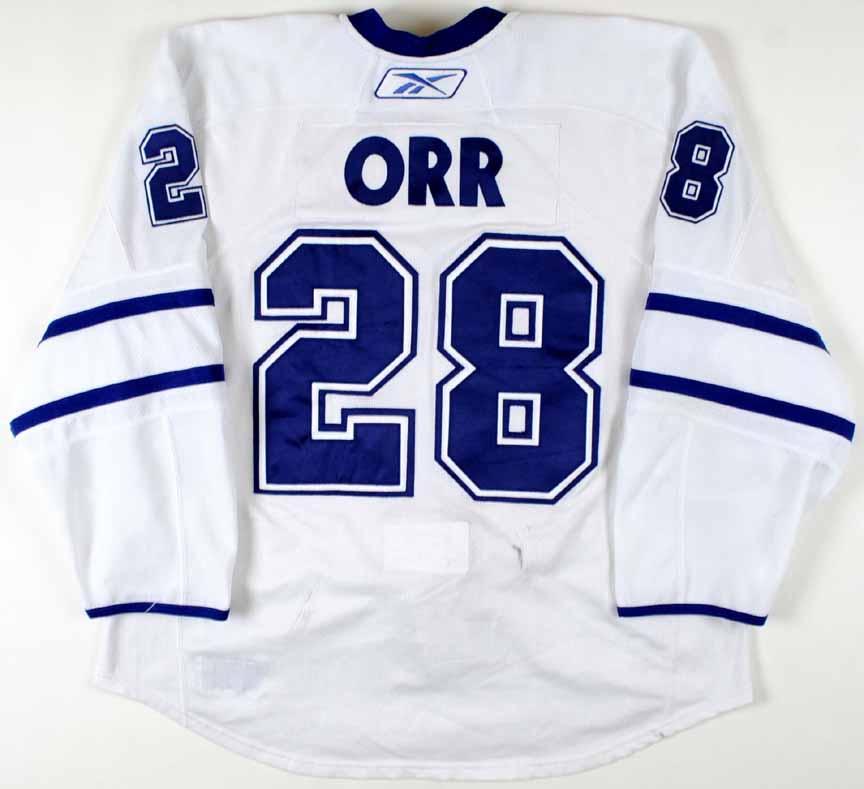 2009-10 Colton Orr Toronto Maple Leafs Game Worn Jersey - Team ... 4ca55173fc9