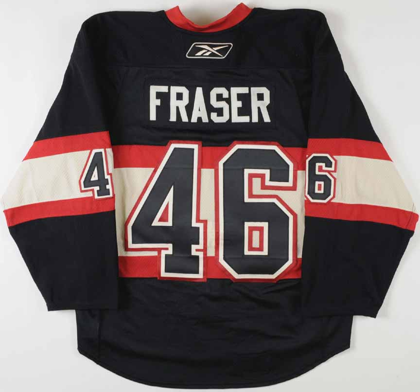 promo code 0484d a447a 2008-09 Colin Fraser Chicago Blackhawks Winter Classic Game ...
