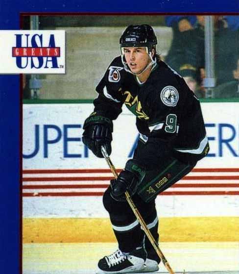 1991-92 Mike Modano Minnesota North Stars Game Worn Jersey -
