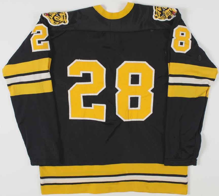 1975-76 Mike Milbury Boston Bruins Game Worn Jersey ... Bruins Roster 1975