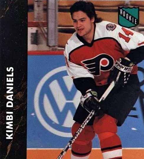 1991-92 Kimbi Daniels Philadelphia Flyers Game Worn Jersey