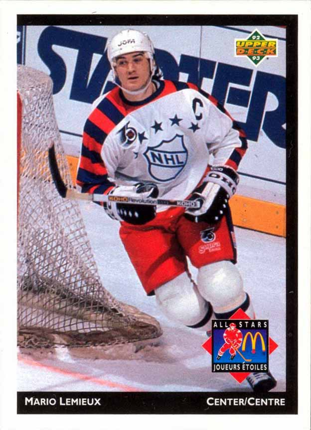 new product 264bf da1ed 1991-92 Mario Lemieux All Star Game Worn Jersey ...