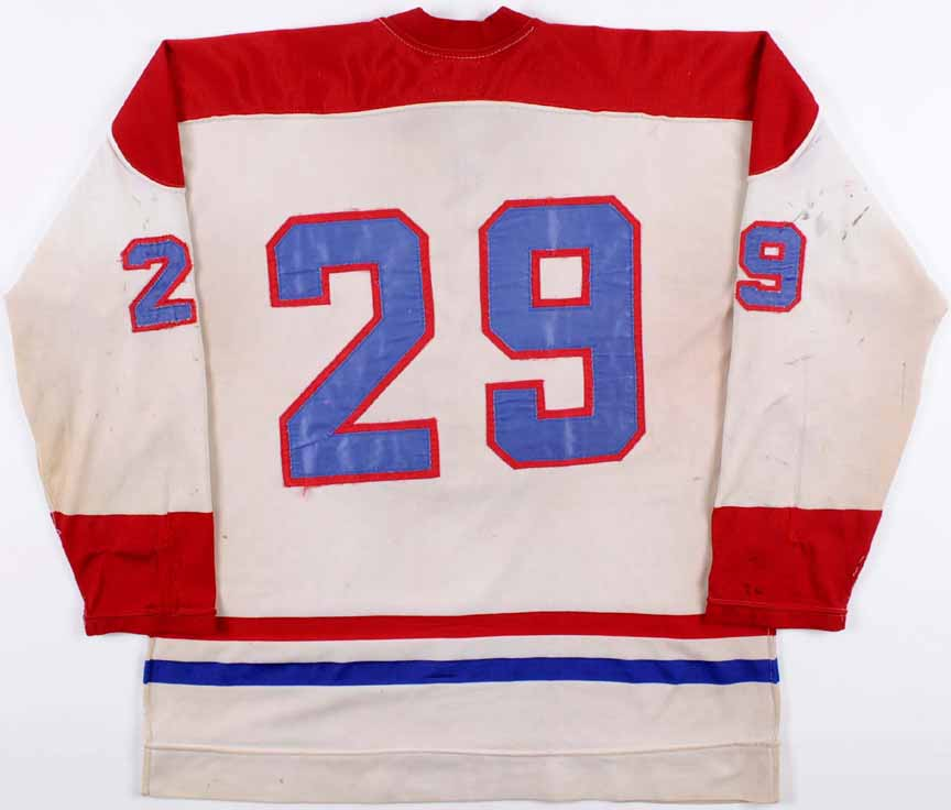 1971-72 Ken Dryden Montreal Canadiens Game Worn Jersey - Rookie ... 43acfa0f3
