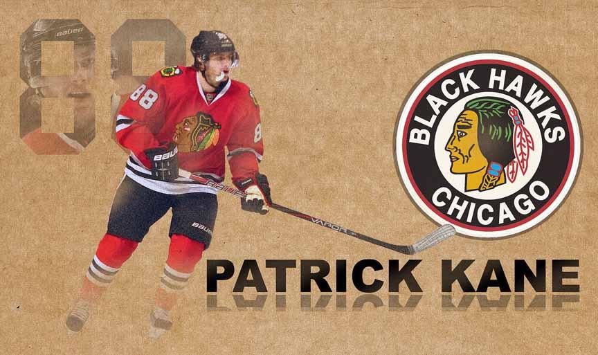 Patrick Kane Chicago B...
