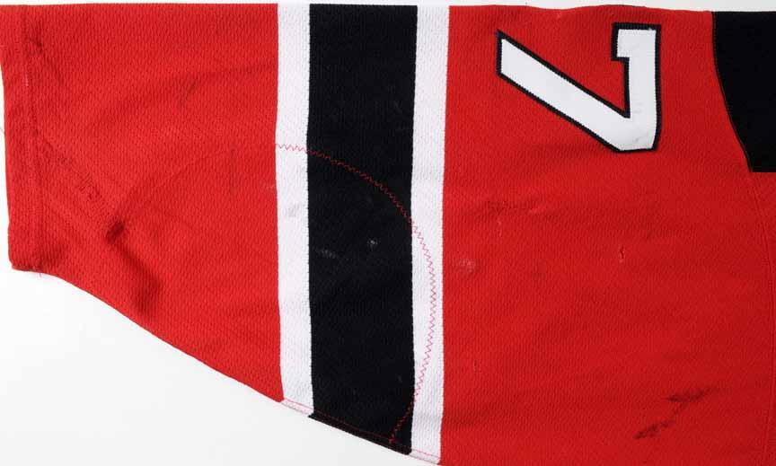 315fab02b 2001-02 Scott Niedermayer New Jersey Devils Game Worn Jersey - Team ...