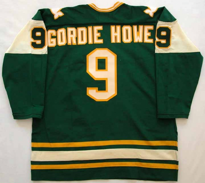finest selection afce1 c56cb 1977-78 Gordie Howe Whalers Game Worn Jersey ...
