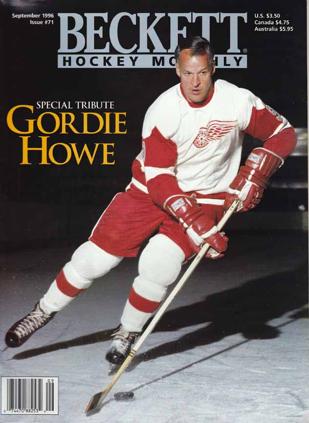 info for a87fa 34355 1960's Gordie Howe Detroit Red Wings Game Worn Jersey ...