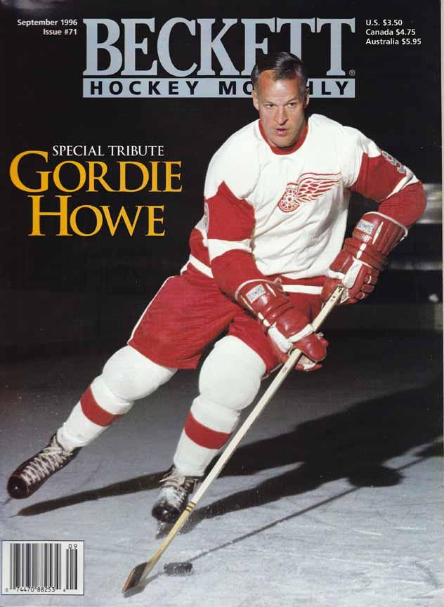 1960 s Gordie Howe Detroit Red Wings Game Worn Jersey - Proceeds to ... 3ba35c675ba