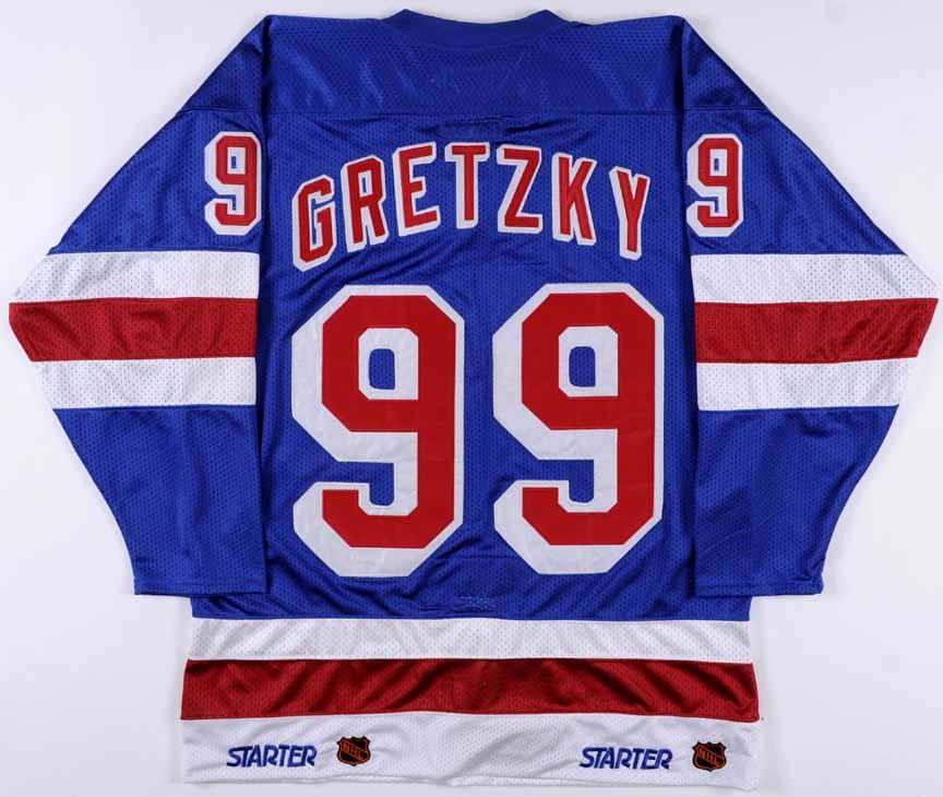 wayne gretzky new york rangers replica jersey