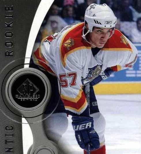 2005-06 Anthony Stewart Florida Panthers Game Worn Jersey - Rookie ... c845c9aec