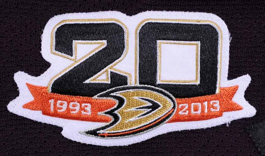 timeless design 414e1 db0c6 new arrivals anaheim ducks 20th anniversary jersey 851ce 43e4d