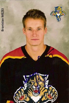 2006-07 Branislav Mezei Florida Panthers Game Worn Jersey -