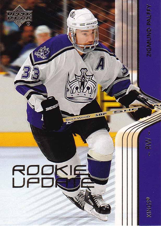 2003 04 Ziggy Palffy Los Angeles Kings Game Worn Jersey