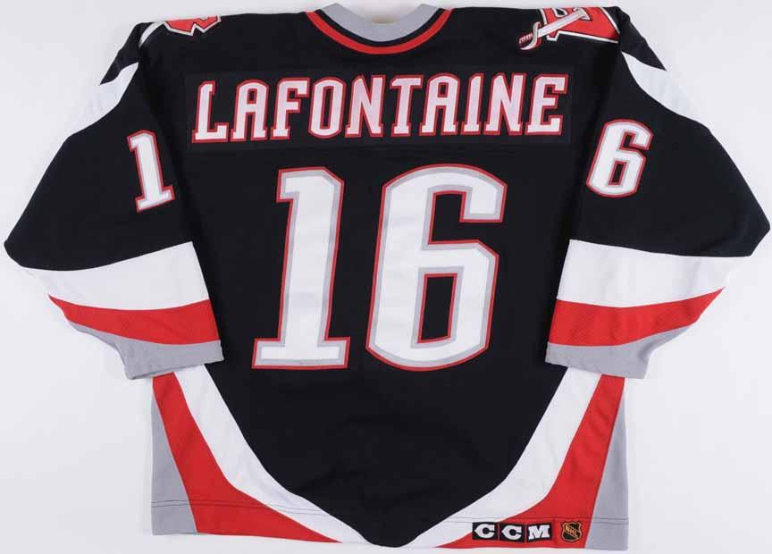 da258fbd1 1996-97 Pat LaFontaine Buffalo Sabres Game Worn Jersey -