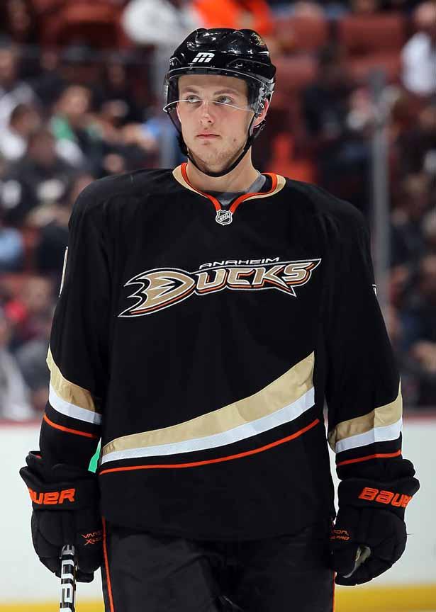 2010-11 Cam Fowler Anaheim Ducks Game Worn Jersey - Rookie ...