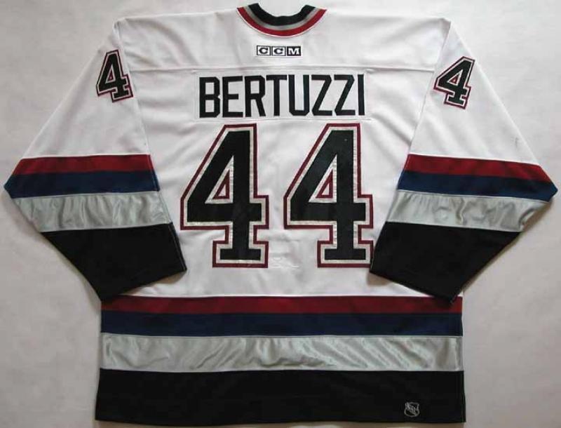 2002-03 Todd Bertuzzi Canucks Game Worn Jersey - NHL Letter ...