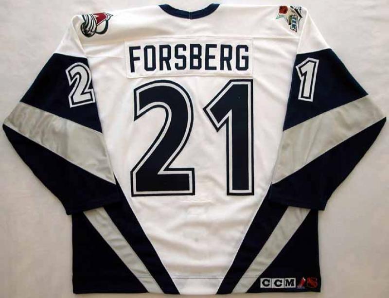 1999 Peter Forsberg All Star Game Worn Jersey -
