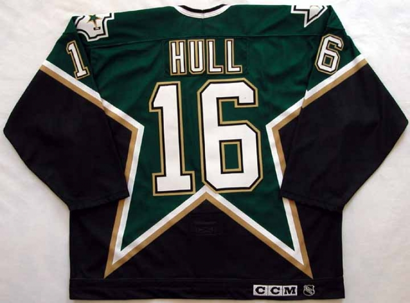 new concept c4934 4347c 1999-00 Brett Hull Stars Game Jersey: GAMEWORNAUCTIONS.NET