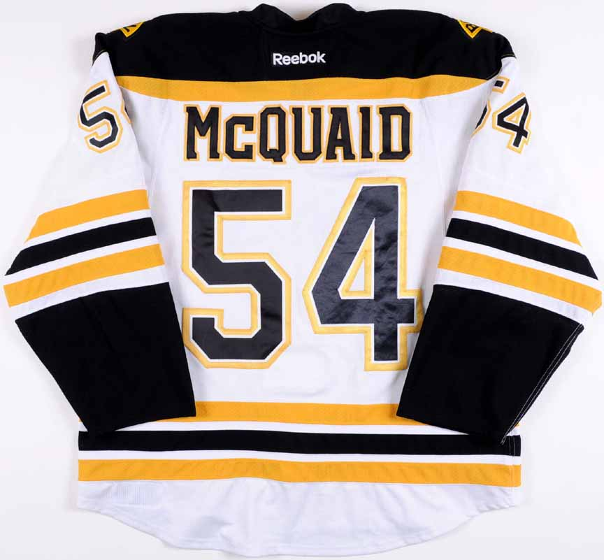 2012-13 Adam McQuaid Boston Bruins Stanley Cup Finals Game