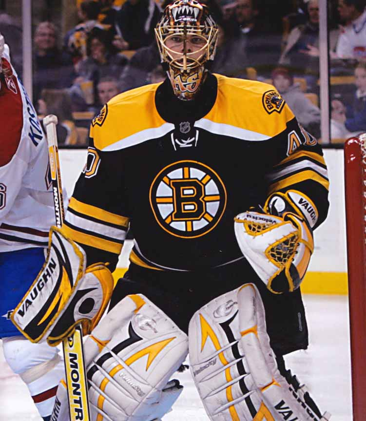 2007-08 Tuukka Rask Boston Bruins Game Worn Jersey