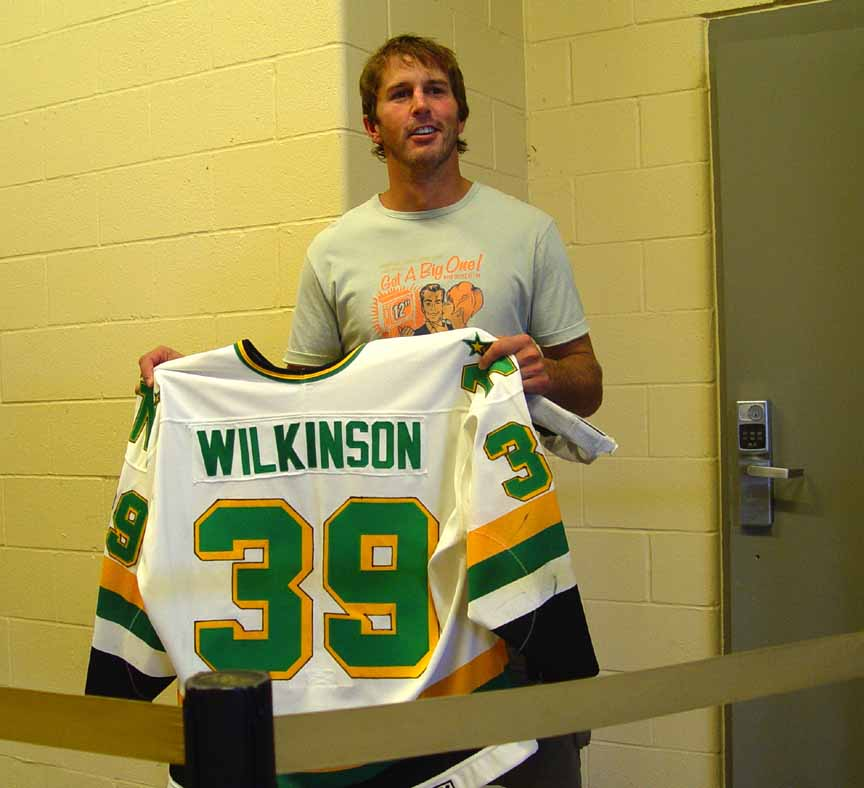 1988-89 Mike Modano Minnesota North Stars Game Worn Jersey – Rookie ... 2f3f998376d