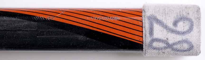 Claude Giroux Philadelphia Flyers Black Bauer Game Used