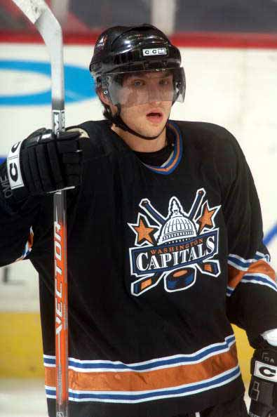 Alex Ovechkin Washington Capitals Orange CCM Game Used Stick ... 37b978102