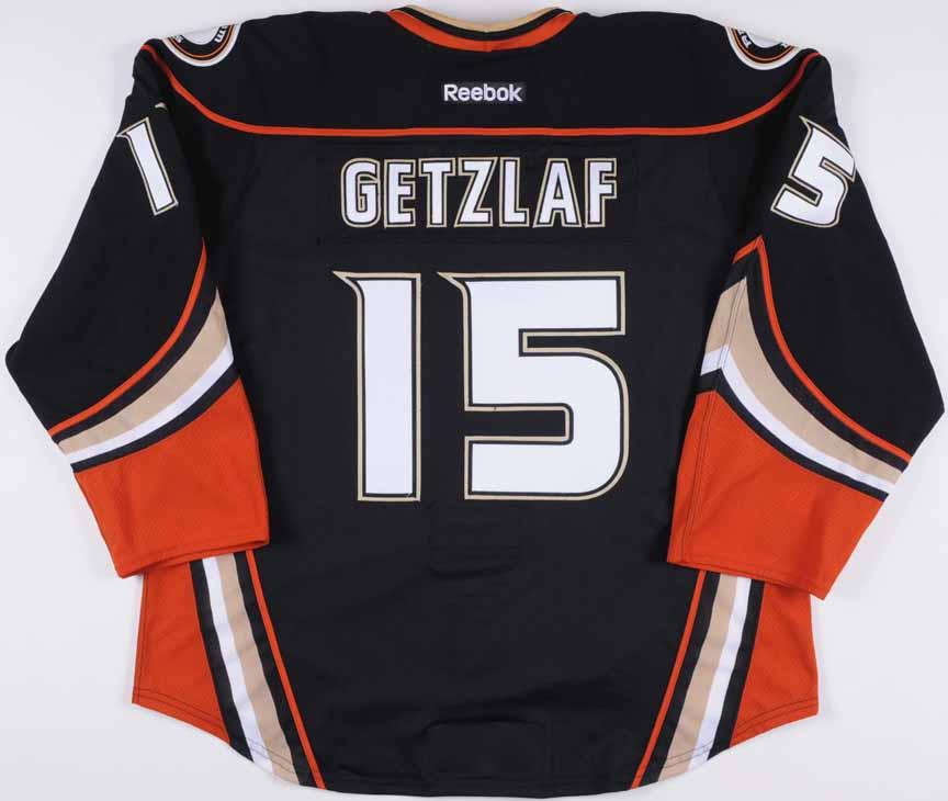 eb42c2ee5 2012-13 Ryan Getzlaf Anaheim Ducks Game Worn Jersey – Alternate ...
