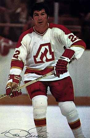 1972 73 Noel Picard Atlanta Flames Game Worn Jersey