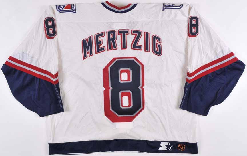 promo code a7e77 74dff best new york rangers 1998 1999 white liberty jersey ...