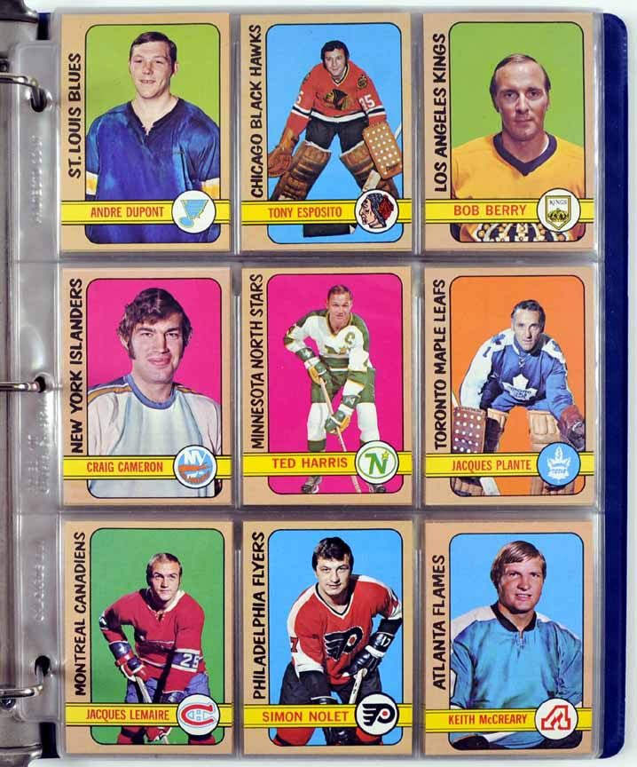 1972-73 Topps Hockey Complete Set Of 176