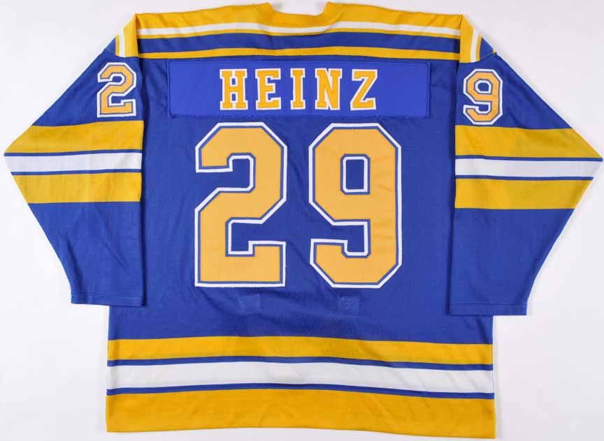 1980-81 Rick Heinz St. Louis Blues Game Worn Jersey – Rookie ...