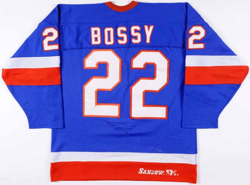 1981-82 Mike Bossy New York Islanders Game Worn Jersey - 1st Team ... 5c94cef04