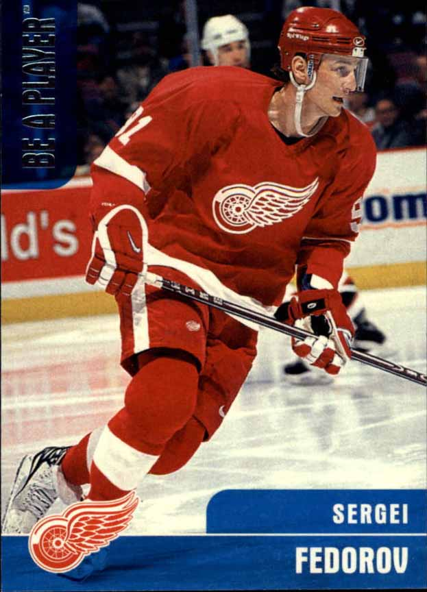 c60380faa73 1998-99 Sergei Fedorov Detroit Red Wings Game Worn Jersey ...