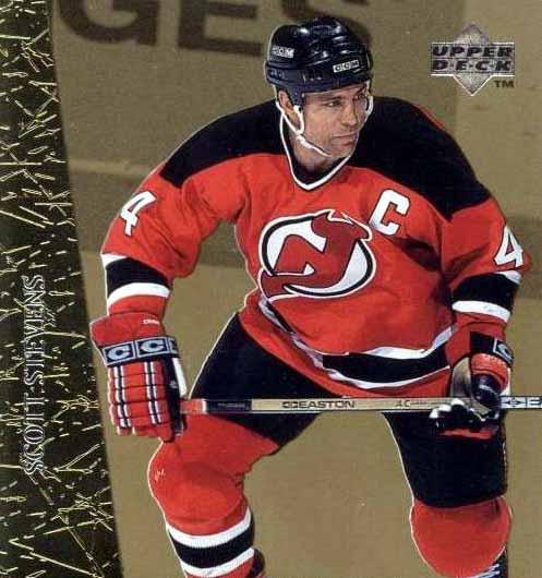 finest selection 867d1 a1f1a Scott Stevens New Jersey Devils Black Easton Game Used Stick ...
