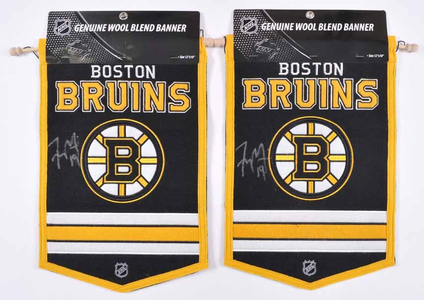 Tyler Seguin Boston Bruins Autograph Group – 10 Items including Hats ... 94d77e42b