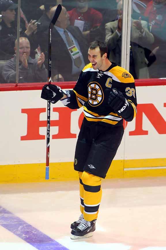 2008-09 Zdeno Chara Boston Bruins Game Worn Jersey - Norris Trophy ... 1be955ee6