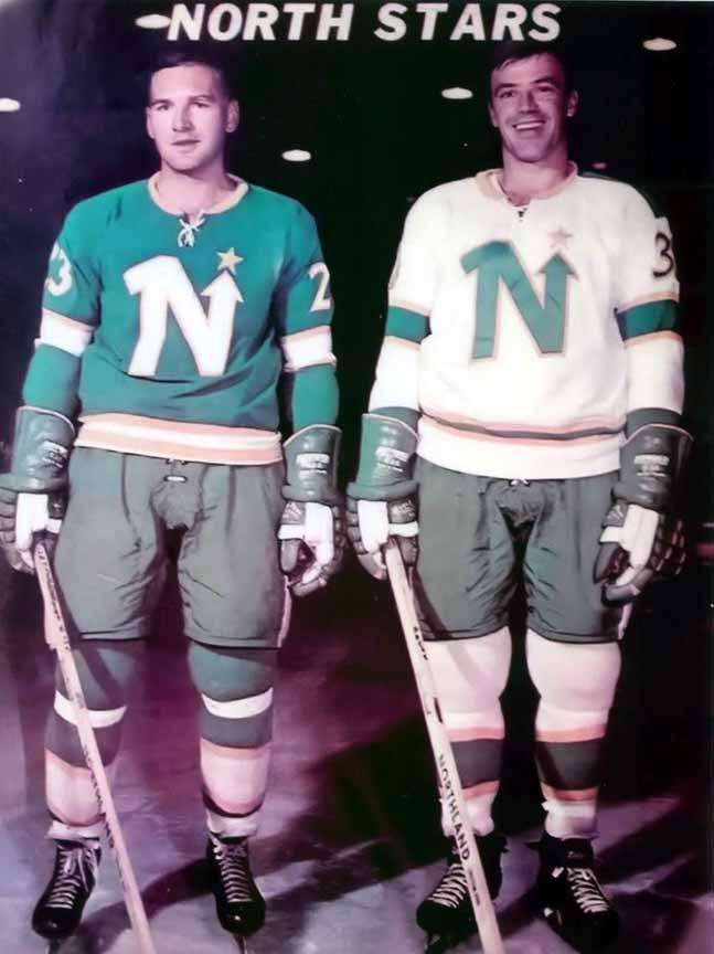 1967-68 minnesota north stars pre-season game worn jersey  u2013 player  20