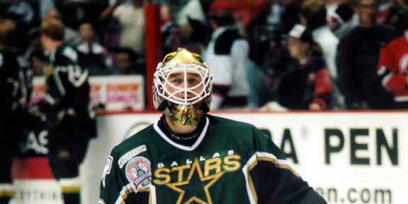 1999-00 Ed Belfour Dallas Stars Stanley Cup Finals Game Worn Jersey ... d1f3c7fac