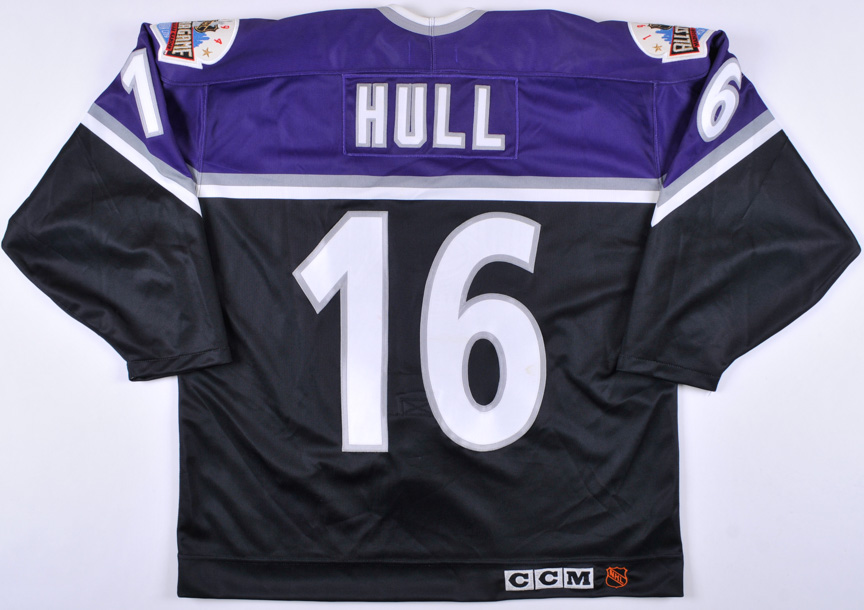 "official photos 3de74 af4e0 1994 Brett Hull NHL All Star Game Worn Jersey – ""1994 MSG ..."